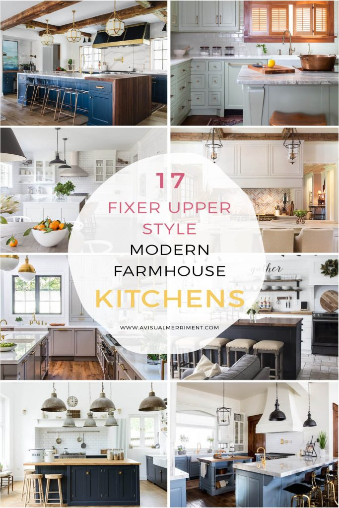 Modern farmhouse kitchen inspiration