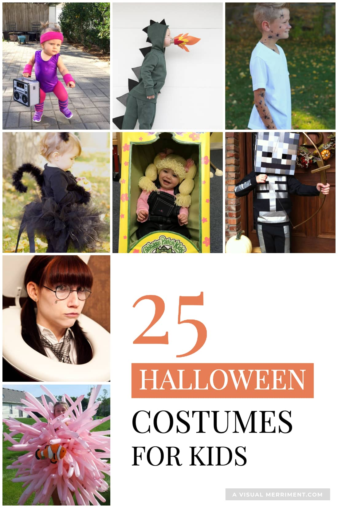 25 Halloween costumes for kids with pictures
