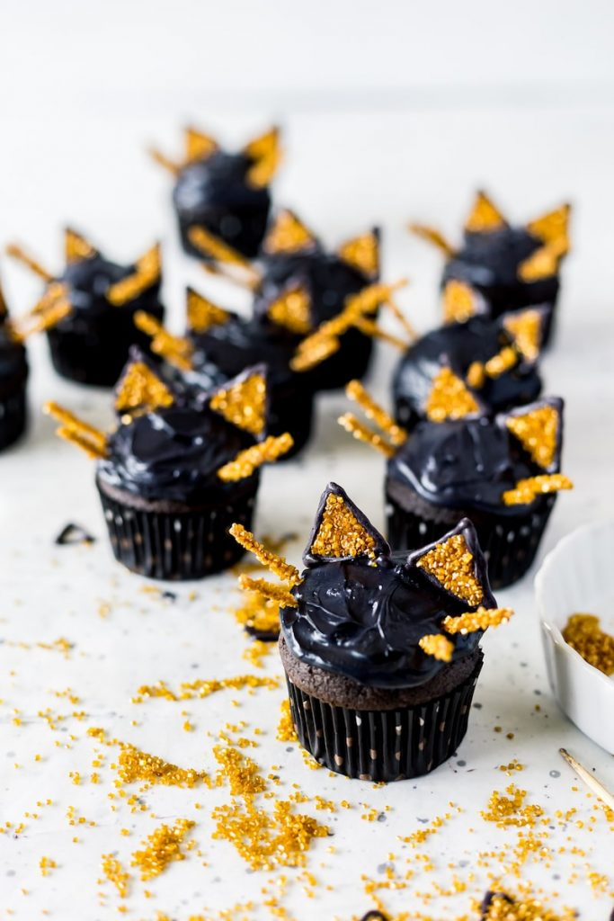 black cat halloween party food