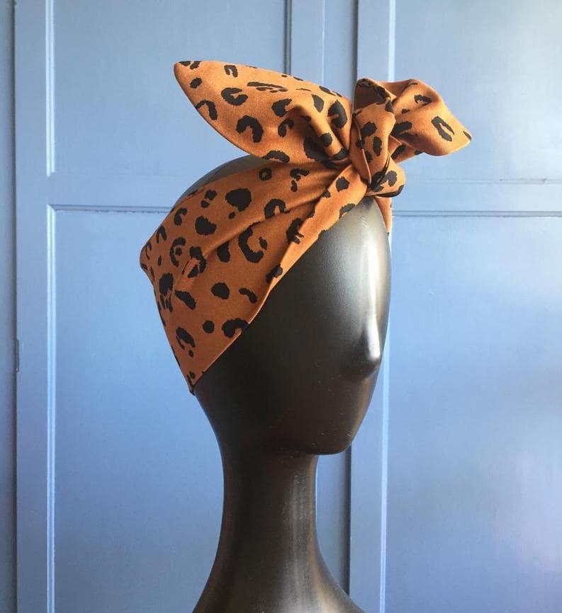 Etsy Leopard Head Scarf