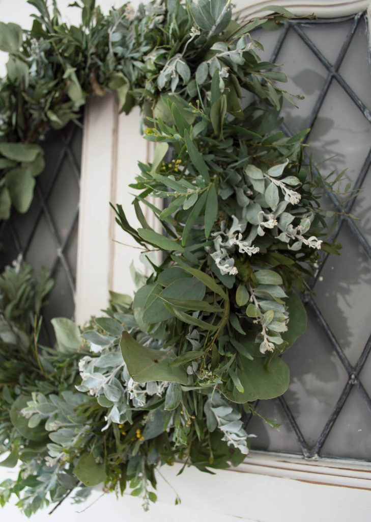 DIY Australian native plant wreath