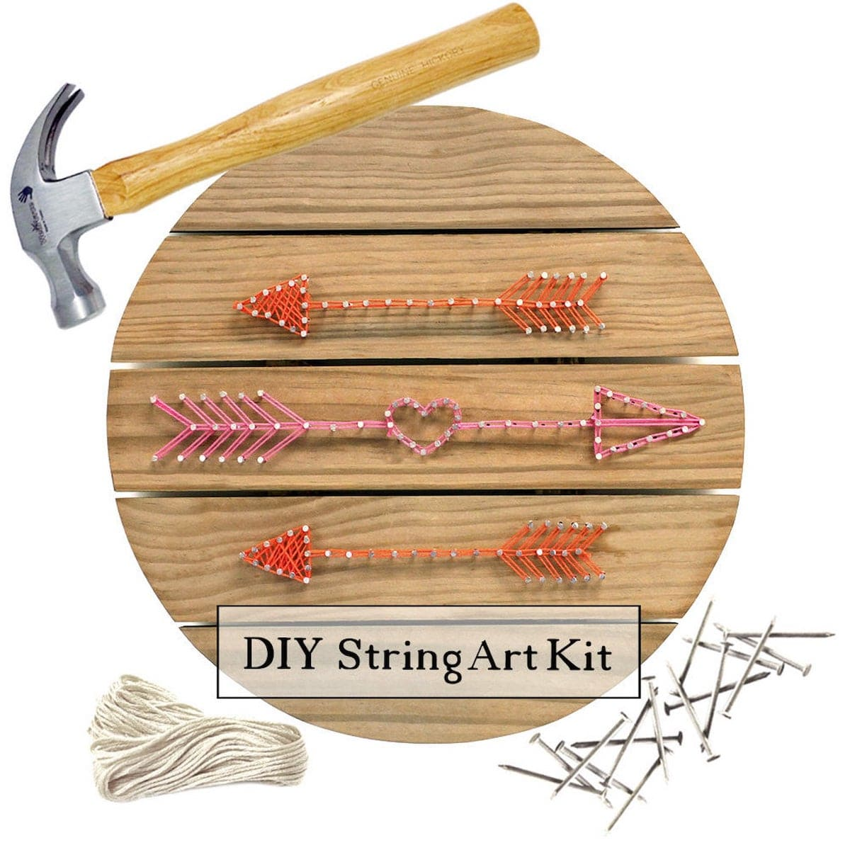 Etsy Gift Guide - String Art Pallet Sign Kit