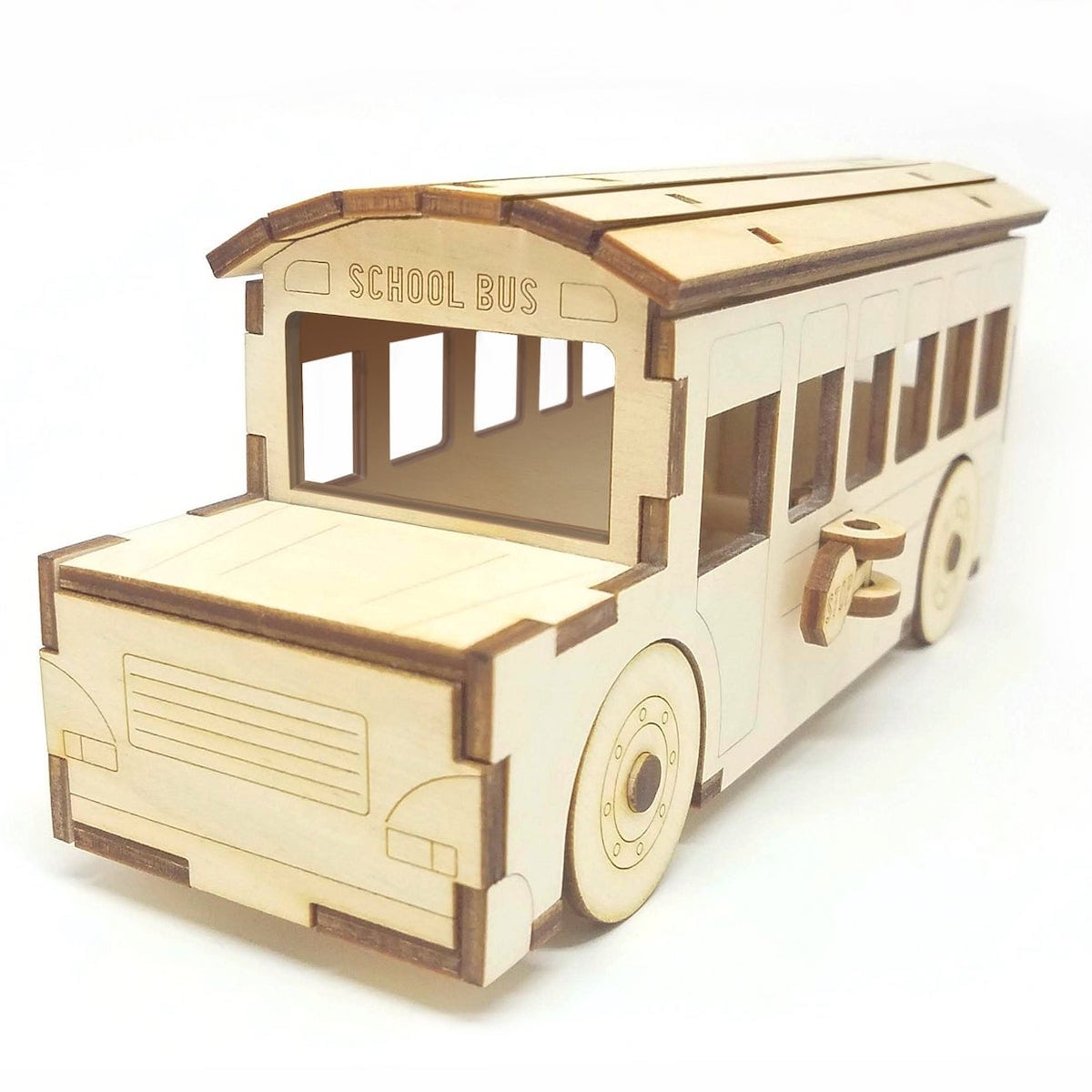 Etsy gift find wooden school bus
