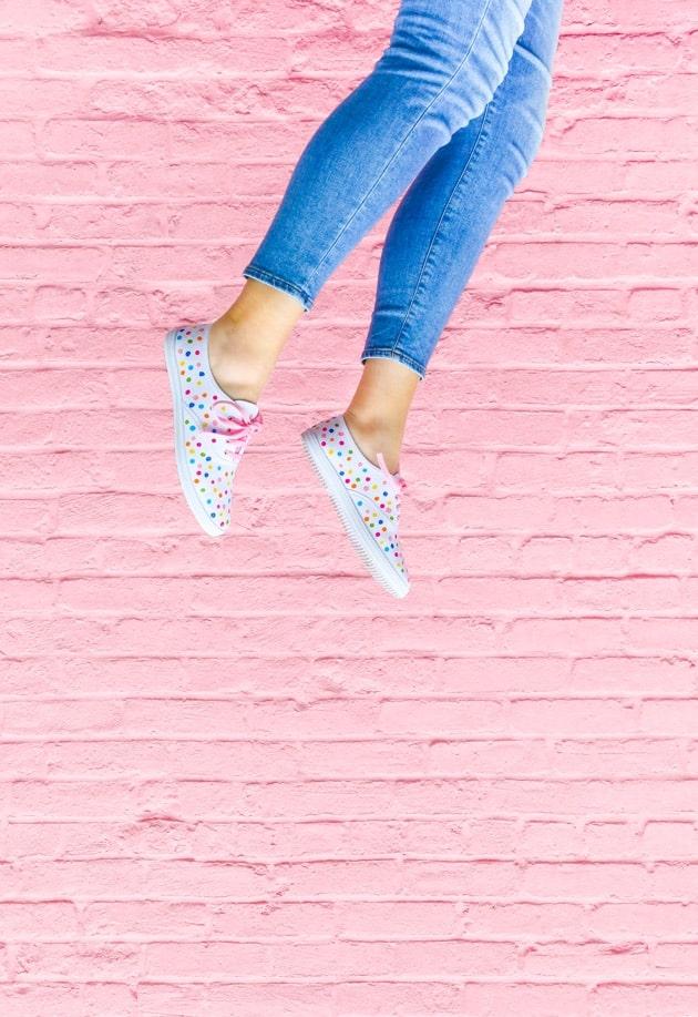 confetti shoes