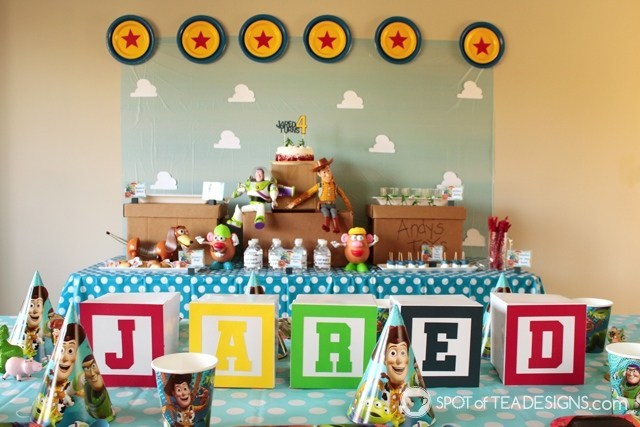 toy story boys birthday party theme for toddlers