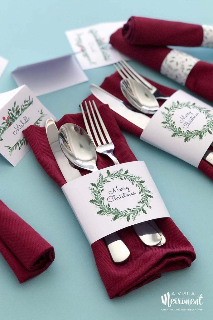 16 Beautiful Christmas Table Settings For Your Festive Season A Visual Merriment