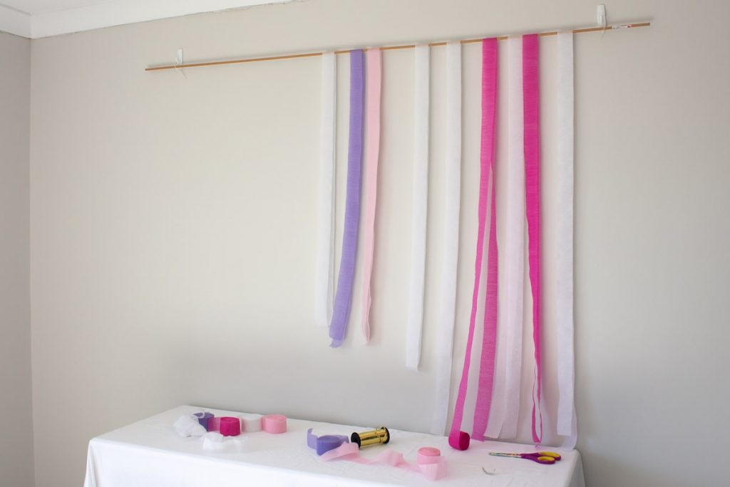 Layer rod with streamer lengths