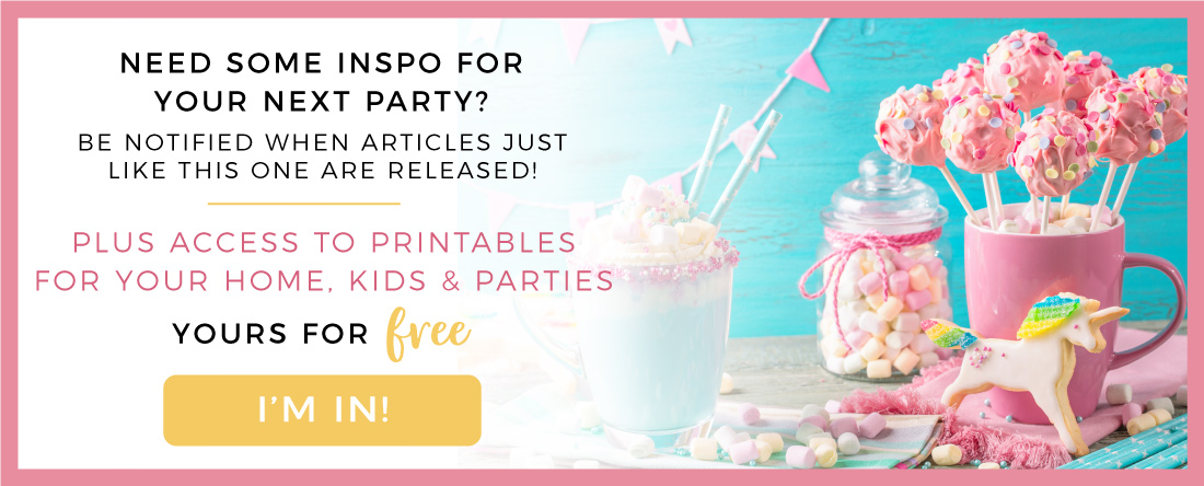 Party inspiration & DIY tutorials, free printables for your home, kids & parties