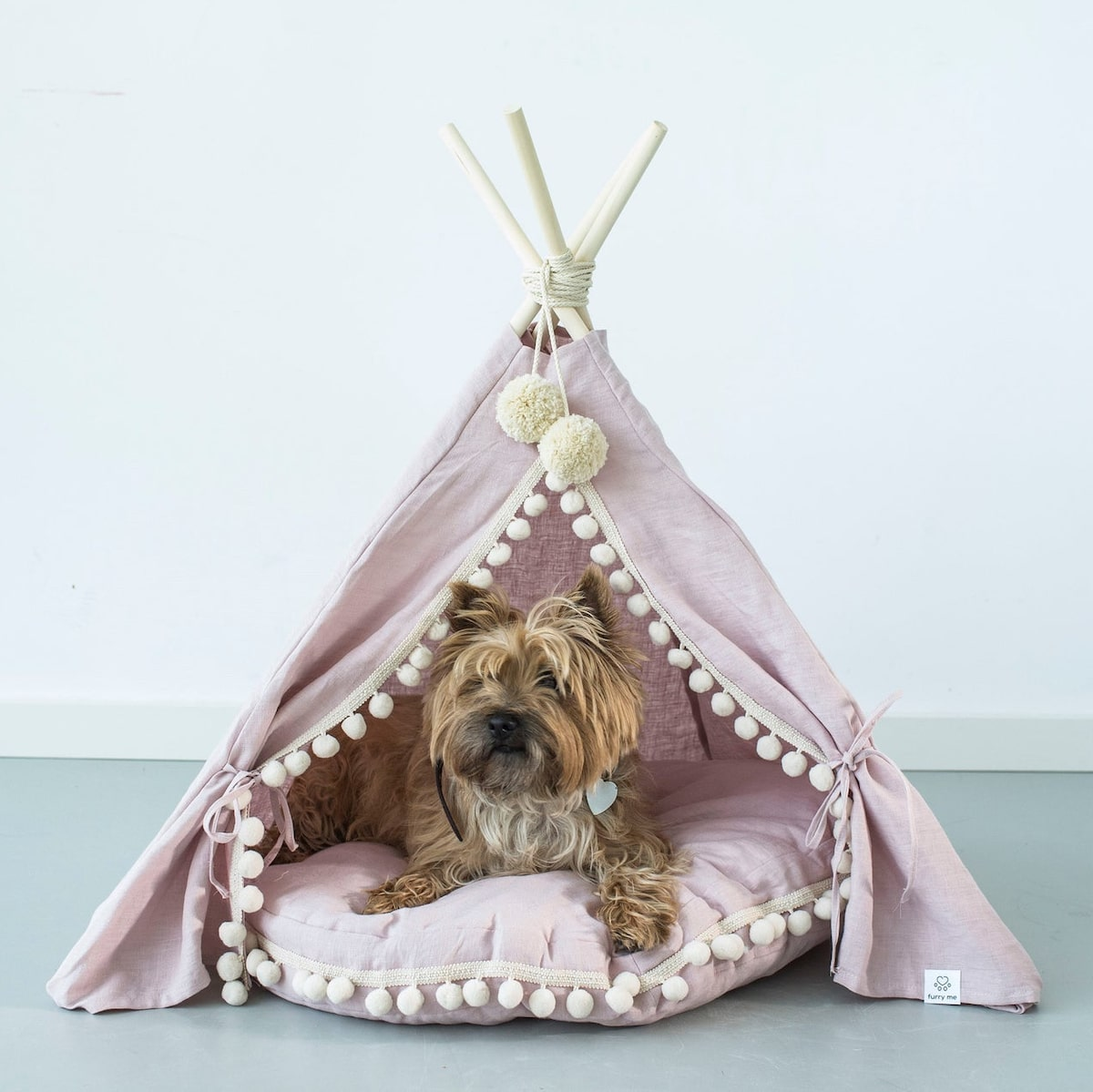 Etsy gift find pet bed teepee
