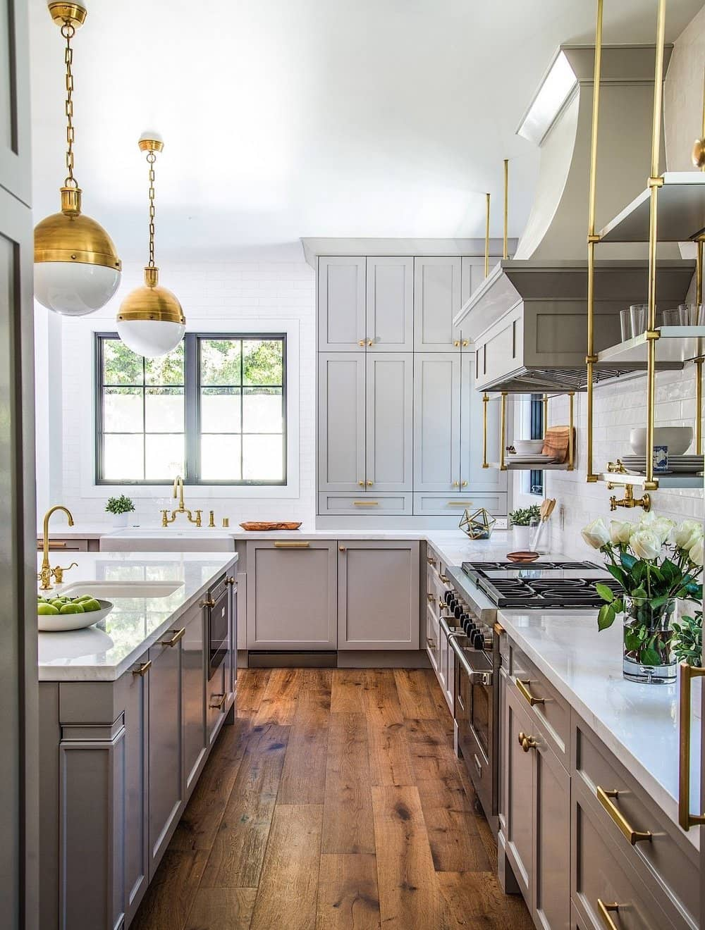 17 Fixer Upper Style Modern Farmhouse Kitchens A Visual