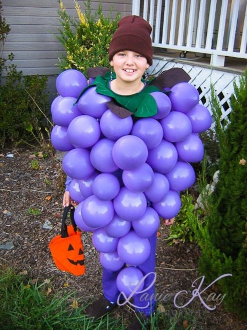 Bunch of Balloon Grapes Costume