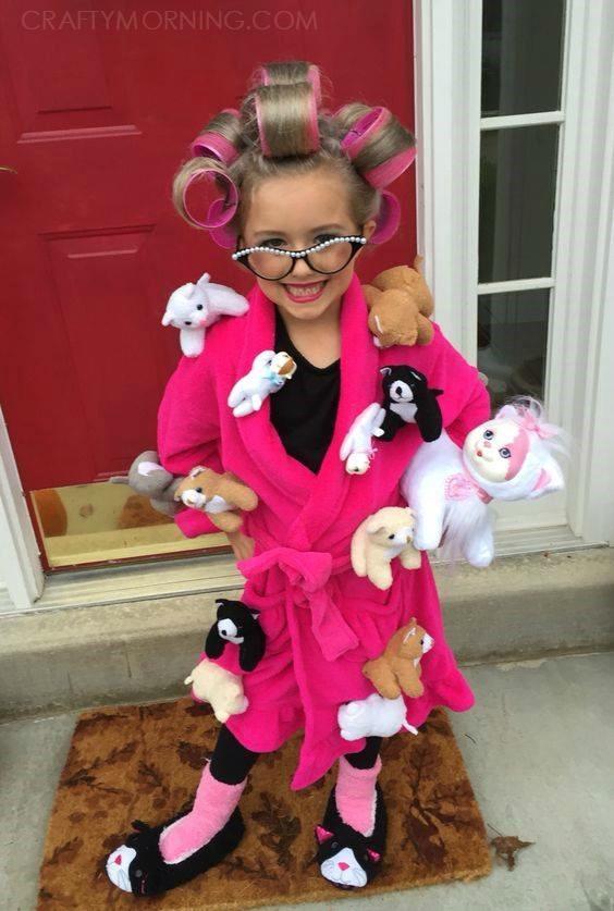Crazy cat lady halloween costume