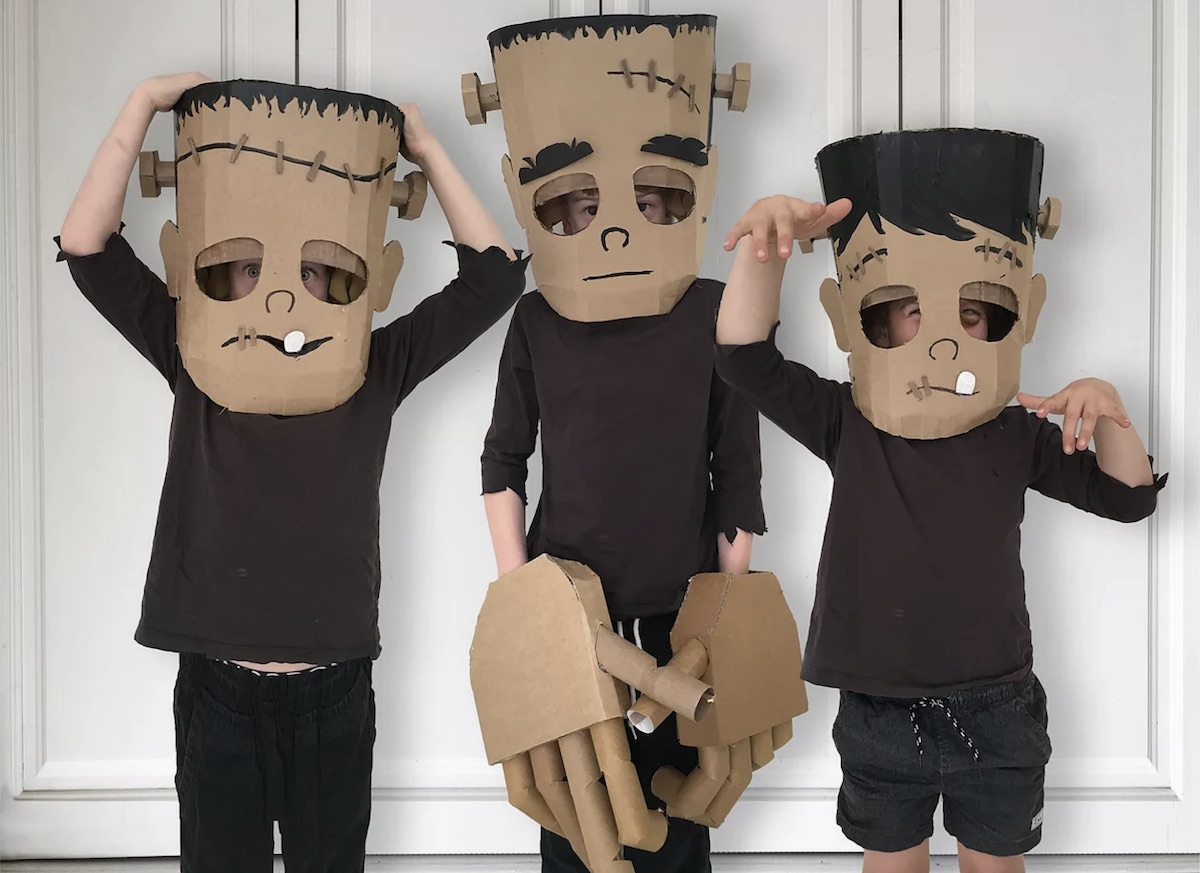 Frankenstein DIY Halloween costume