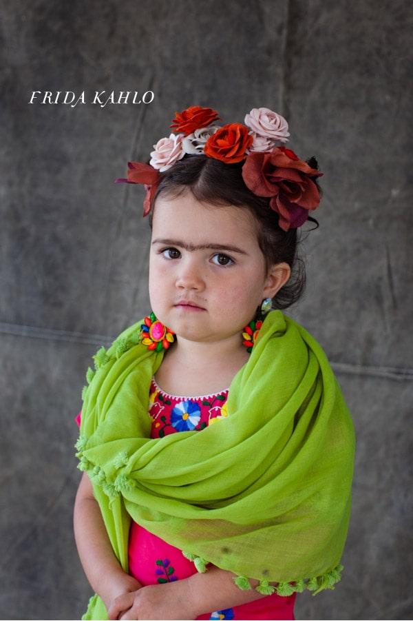 Girl's Frida Kahlo costume