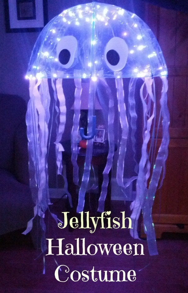 Light up jellyfish Halloween costume