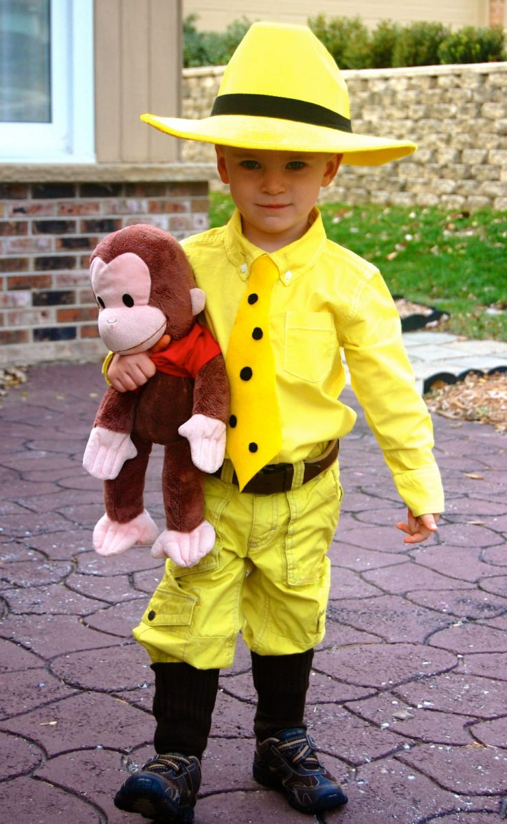 Man in the Yellow Hat boy's Halloween costume