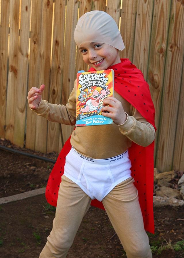 Captain Underpants boy's costume