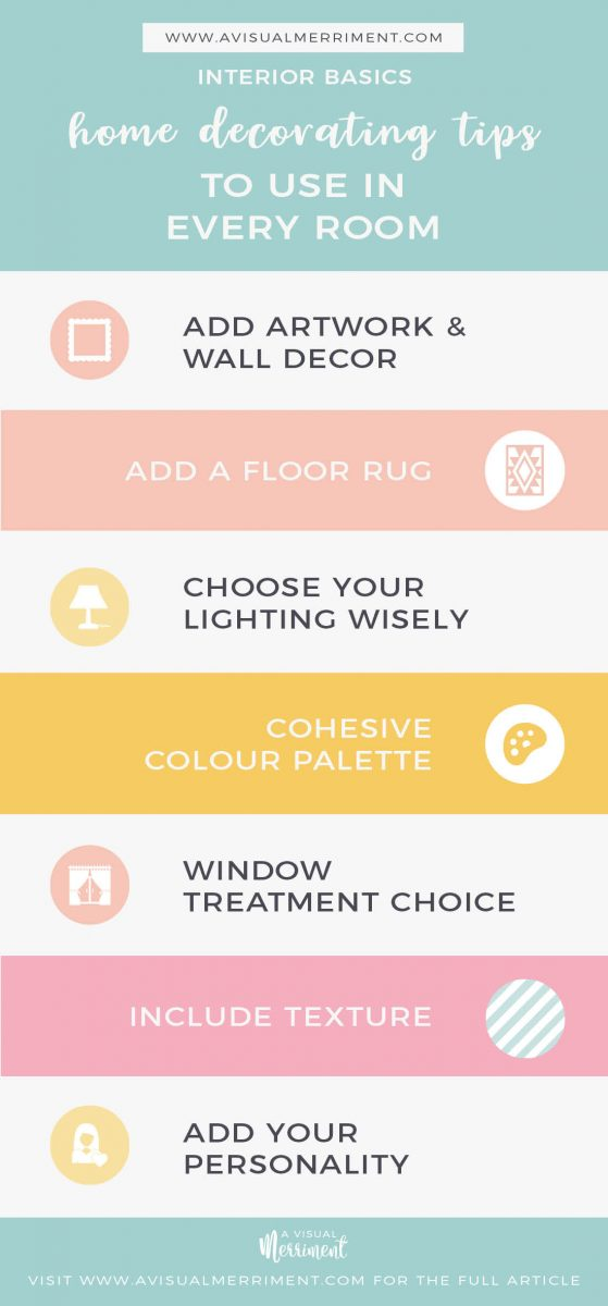 Essential decorating tips for every room
