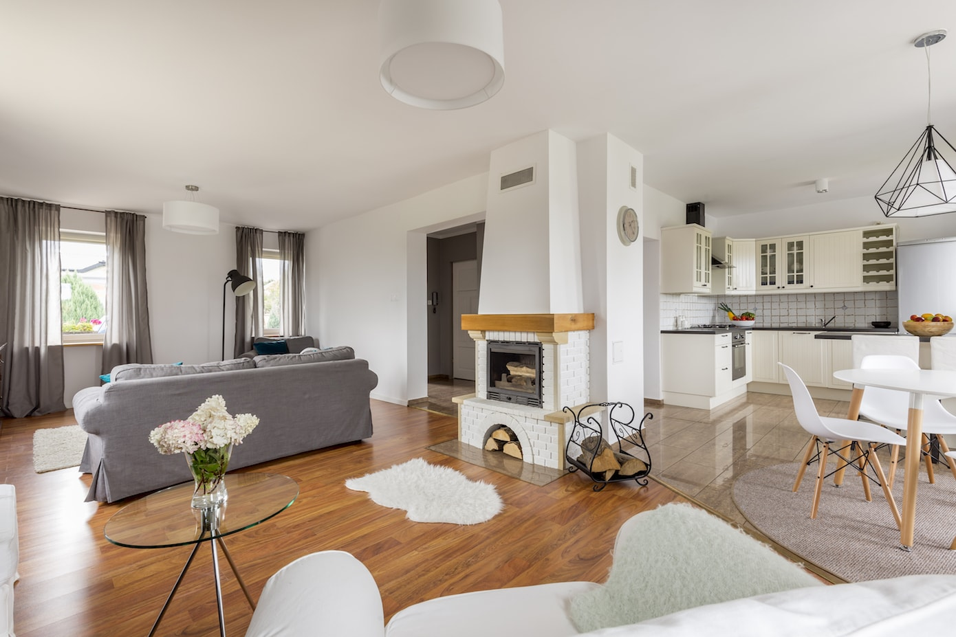 Cosy neutral open home planning zones