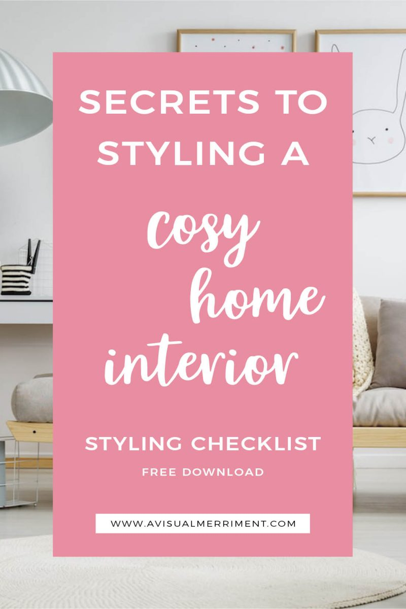 How to create cosy home