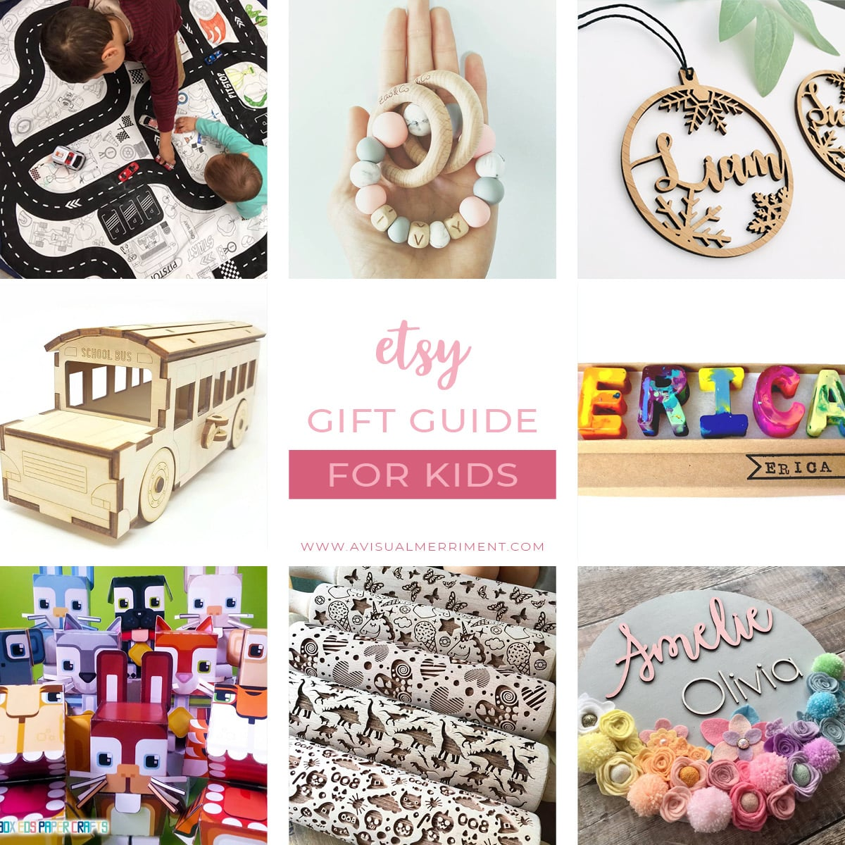 Etsy gift guide for kids