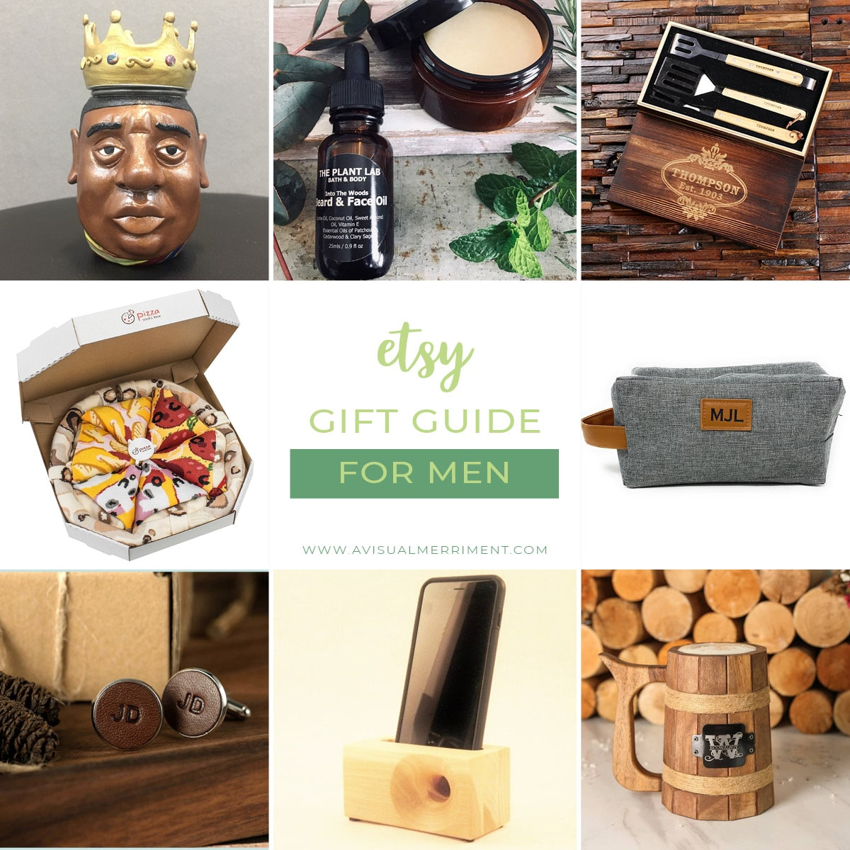 Etsy gift guide for men