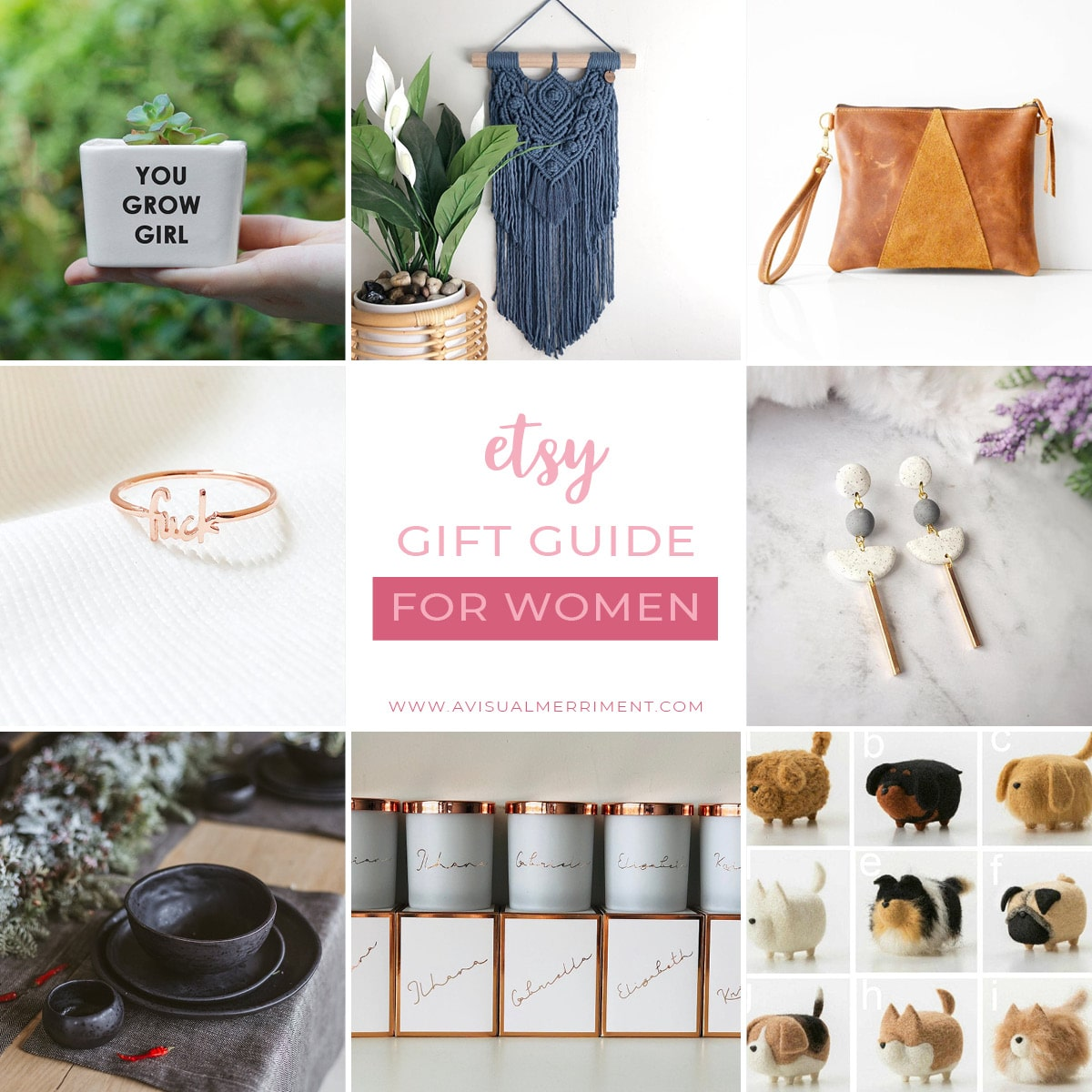 Etsy gift guide for women
