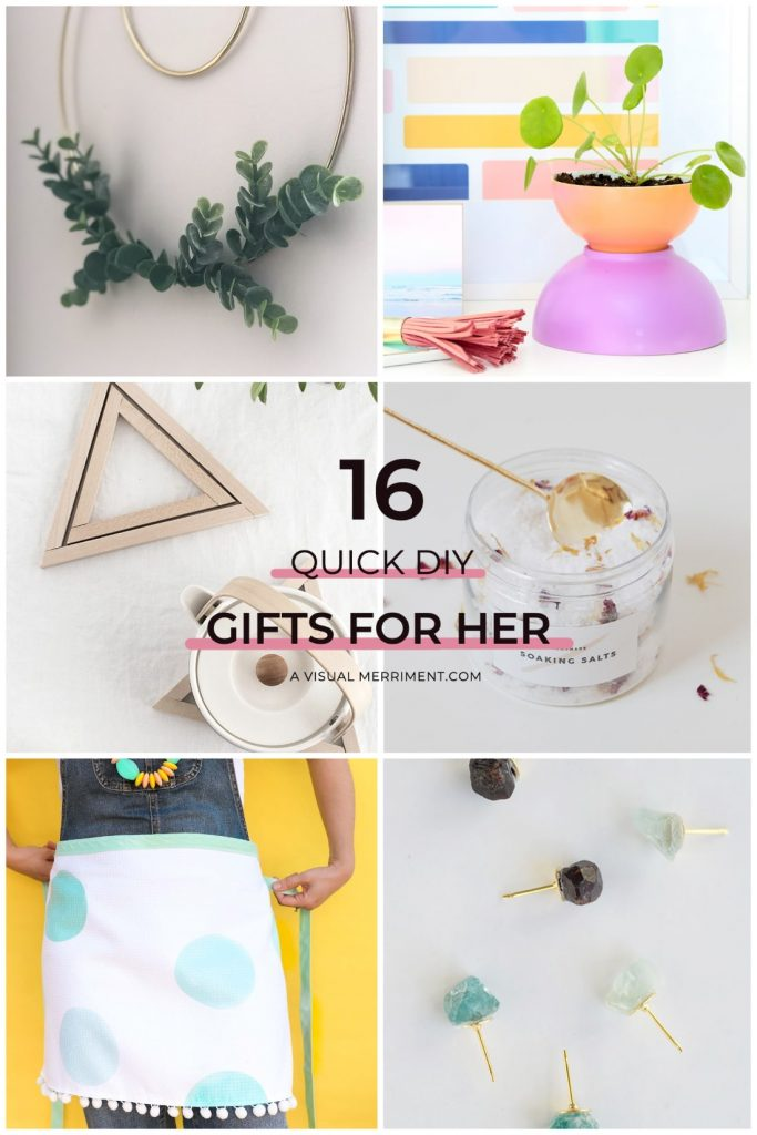 6 gift ideas to make for women