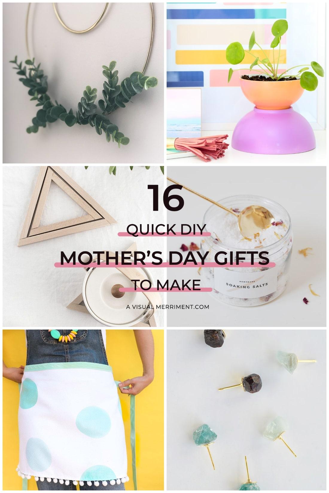 6 crafty gift ideas for mom