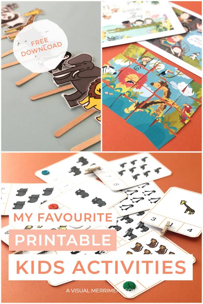 multi image of all printable activities