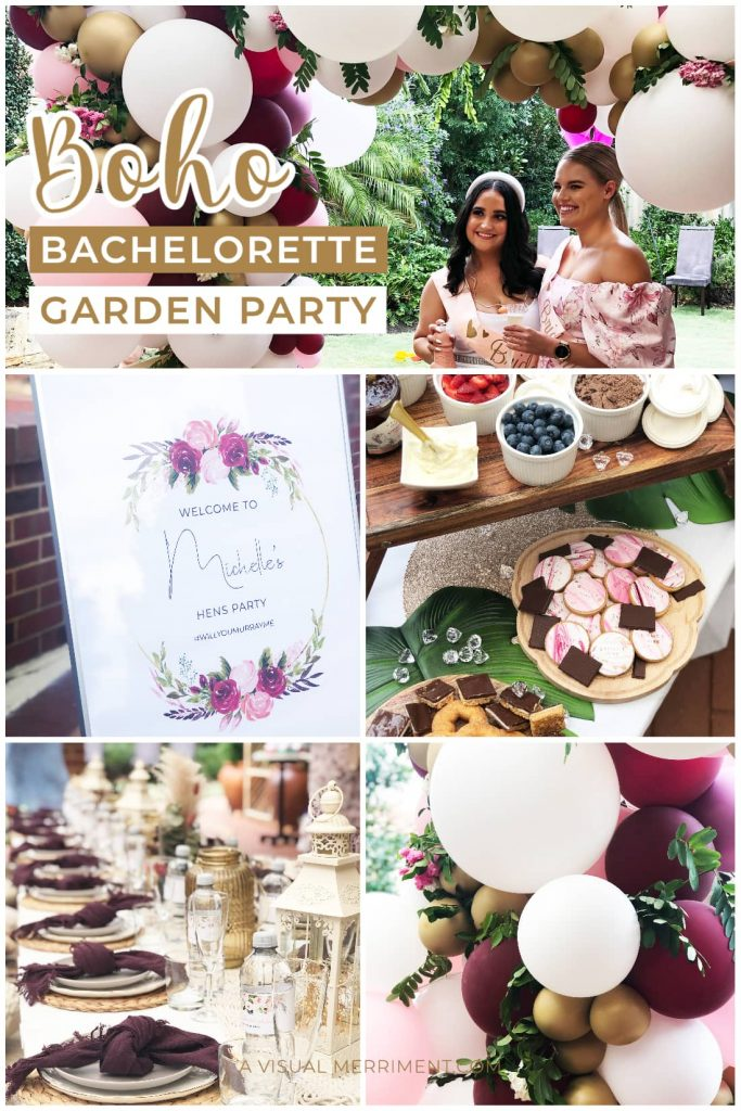 multi graphic of party elements