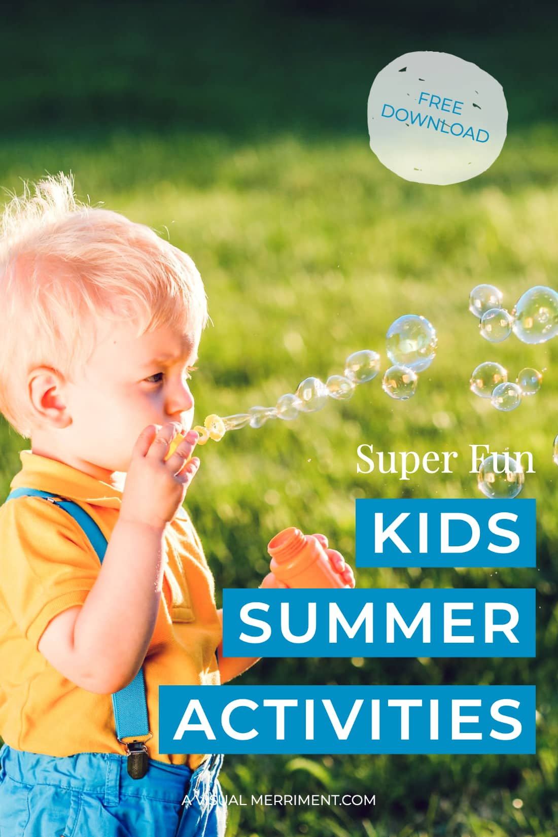 Kids outdoor summer activities