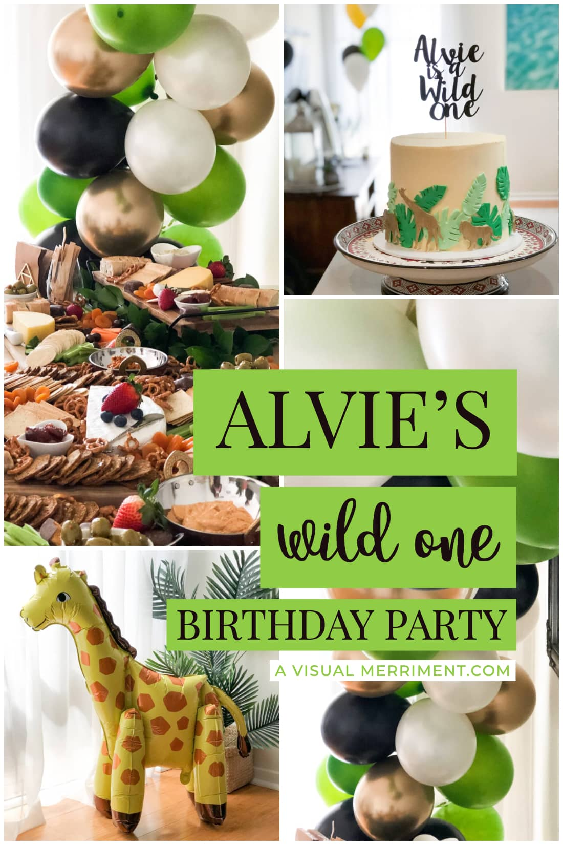 safari wild one first birthday party